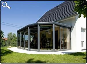 Modele De Veranda : modele de veranda contemporaine modele de veranda ~ Premium-room.com Idées de Décoration