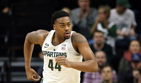 nick ward named big ten player   week msutoday