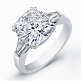 Cushion-cut-diamond-ring-set-in-platinum | Top 5 Cash for ...