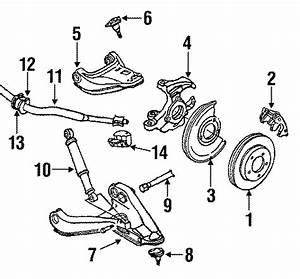 Chevrolet S10 Blazer Suspension Control Arm  Left