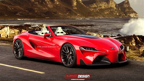 Render Toyota Ft1 Convertible Gtspirit