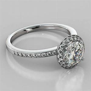 15 photo of wedding band setting without stones With wedding ring halo settings