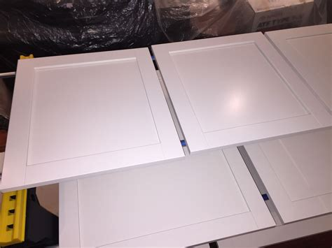 Kitchen Cabinet Paint Clear Coat Finish by Ikea Bjorket Doors Painted With General Finishes Enduro