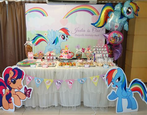 my little pony table my little pony birthday parties and dessert table setup
