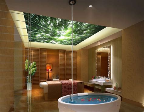 luxury spa architecture interior design