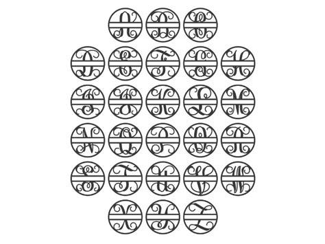 split  monogram craftcutscom