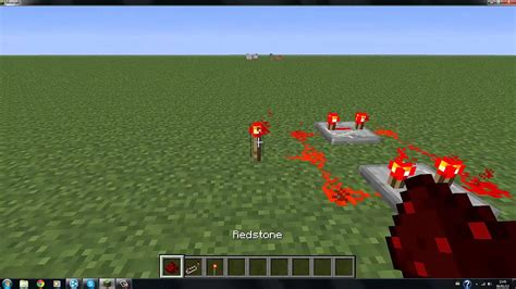 Minecraft How Make Continuous Redstone Circuit