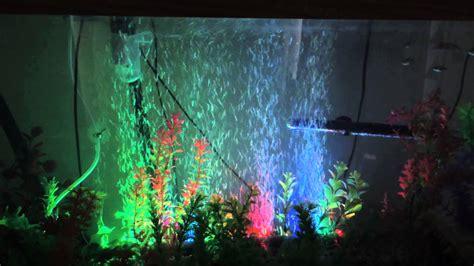 My Aquarium Air Wall With Led Lighting.