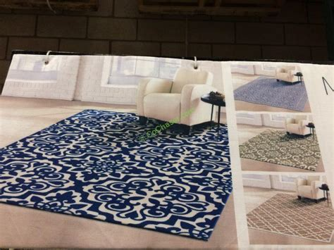 area rugs costco mineral springs microfiber area rug 6 x 9 6 costcochaser