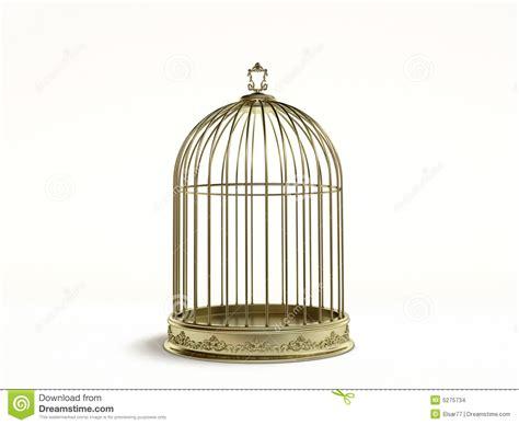 in gabbia gabbia dorata immagini stock immagine 5275734
