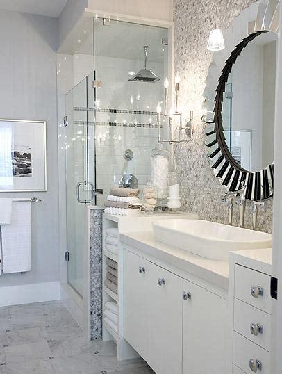 kohler trough hex backsplash contemporary bathroom