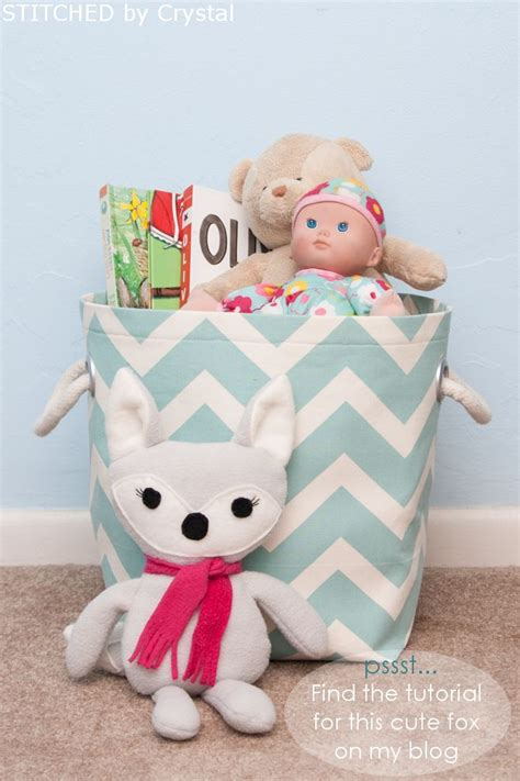 diy fabric storage basket with handles these are
