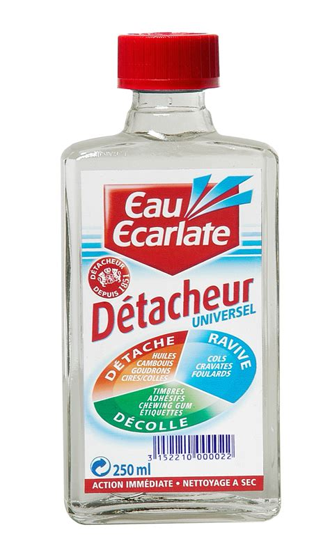 eau ecarlate detachant textile linge flacon 500 ml