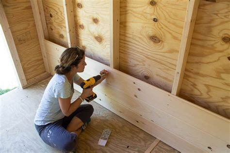 Installing Shiplap Drywall by How To Install Shiplap Walls Ideas For The House Hus