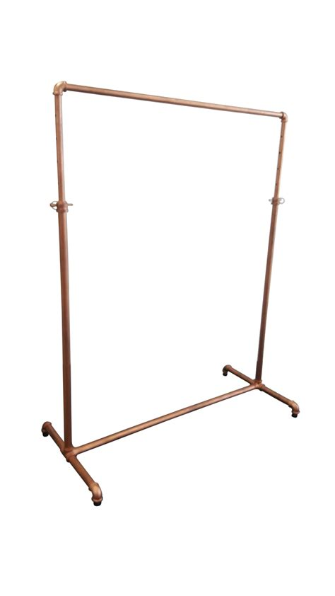 gold clothing rack clothes rack antique gold industrial style rax
