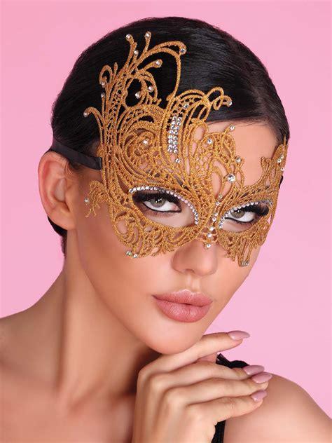 Mask Golden maska na oczy - złota - smak luksusu WYPRZEDAŻ | eSensa.pl