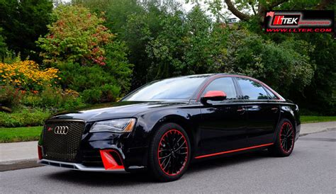 Body Kit Styling  Audi A8 D4 2009  2011  Lltek Redline