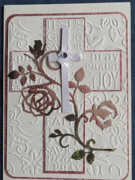 17 best images about embossing 17 best images about cross embossing folder on