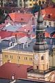 Saint Jadwiga Catholic Church In Bolkow Stock Photo ...