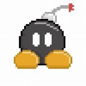 Pixel Art Bombe : beneficios ~ Melissatoandfro.com Idées de Décoration