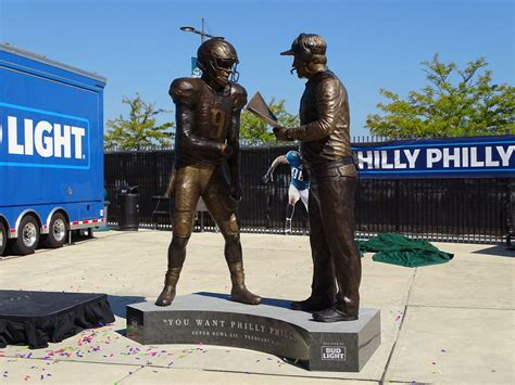 Image result for phila wikipedia statue foles and pederson