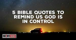 5 Bible Quotes ... Control Bible Quotes
