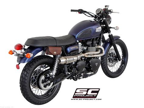 Conic Full System Exhaust By Sc-project Triumph