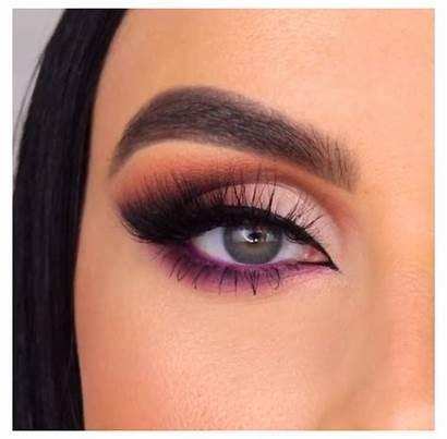 Makeup Eye Tutorial Purple Night Smokey