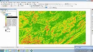 Slope Values From Dem Using Arcmap 10 2