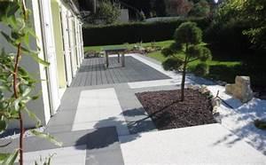 Pose Terrasse Bois Sur Gravier : terrasse composite sur gravier ~ Premium-room.com Idées de Décoration