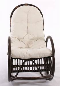 ROCKING CHAIR DAISY AVEC COUSSIN MICROFIBRE ROCKGCH DAISY