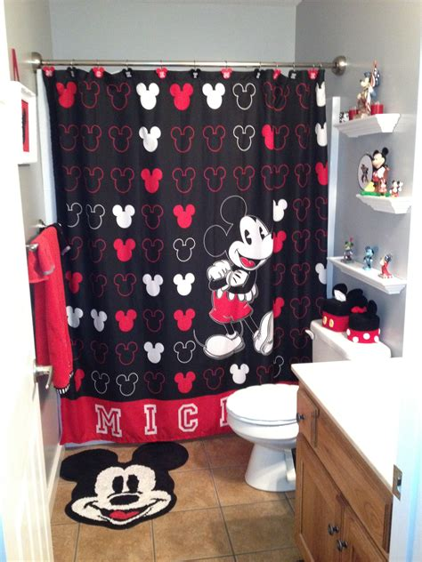 mickey mouse shower hooks the black white and red mickey