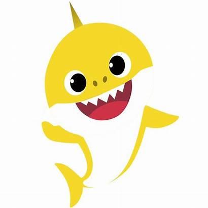 Shark Birthday Clipart Yellow Doo Babyshark Party