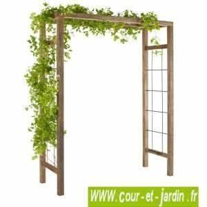 Arche De Jardin Leroy Merlin : arche de jardin en bois pas cher great arche de jardin ~ Dallasstarsshop.com Idées de Décoration