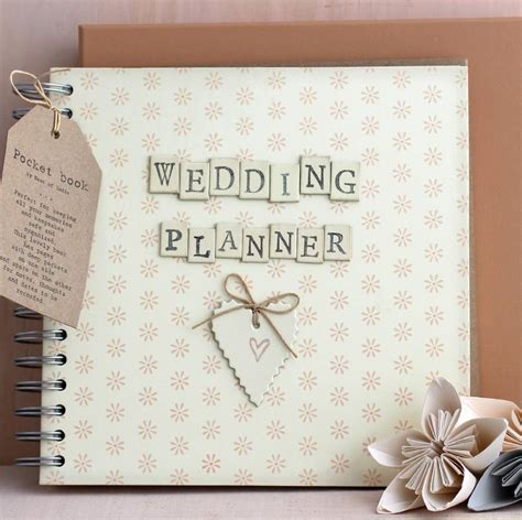 Personalized Wedding Planner Book