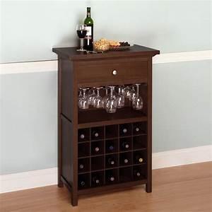 Storage & Organization: Winsome Wood 94441 Cabinet Wine