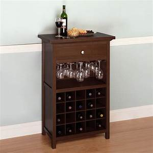 winsome wood 94441 cabinet wine rack lowe39s canada With kitchen cabinets lowes with cheap wooden candle holders