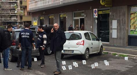 ufficio postale montesacro roma terrore alle poste sparatoria tra rapinatori e polizia