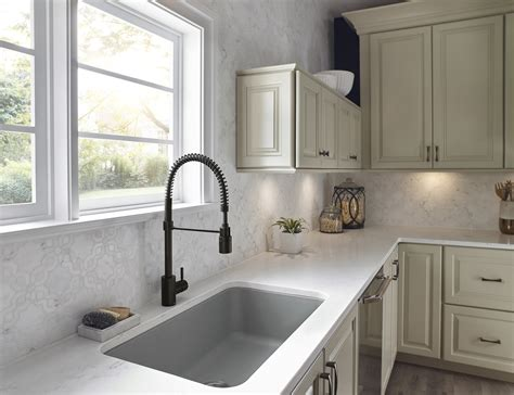 industrial inspired kitchen faucet jlc