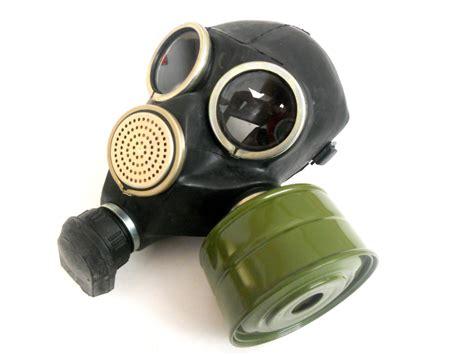 Soviet Gas Mask Gp-7 V Black Scary Gas Mask By Tastevintage