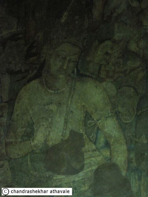 temple buddhist rock painting famous cut head were park hand body being