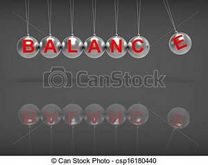 Drawing of Balance Spheres Showing Balanced life Or ...
