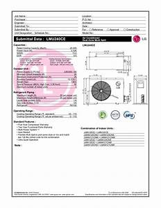 Download Free Pdf For Lg Lmu240ce Air Conditioner Manual