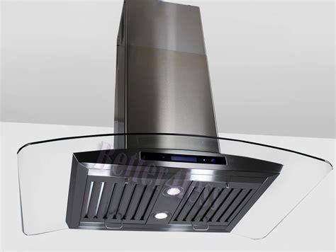 kitchen island exhaust fan 36 quot island mount stainless steel kitchen range hood vent