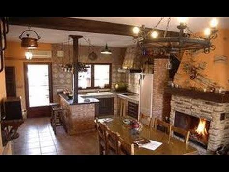 decoraciones de cocinas rusticas youtube