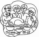 Coloring Dinner Thanksgiving Turkey Pages Happy Clipart Cliparts Clipartpanda Clip Dinners Popular Library Meal Terms Cake Designs Favorites sketch template