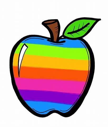 Crayon Clipart Clip Rainbow Crayons Purple Blank