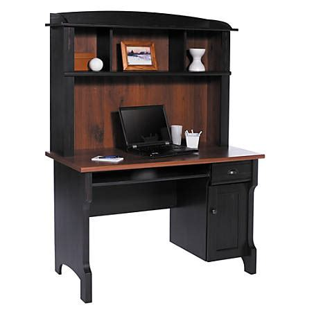 Office Max Desk by Realspace Shore Mini Solutions Computer Desk With Hutch