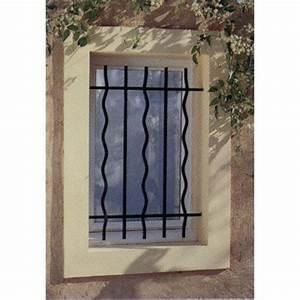 Barreau Securite Fenetre : grille de d fense pour fen tre mistral x cm ~ Premium-room.com Idées de Décoration