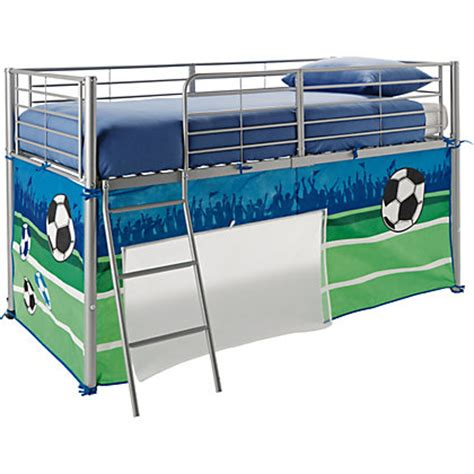 football mid sleepers football tent pack for mid sleeper bed at homebase be